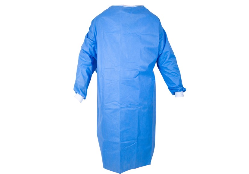 Surgical gown size adjust